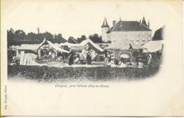CHIGNAT Près BILLOM (marché) - France
