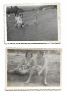 2 Photo - Pin-ups Naked Boys And Girl, Costume Da Bagno , Swimsuit In Macedonia Family - Pin-ups