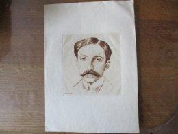 A. DE SZEKELY  GRAVURE 16cm/15cm (FEUILLE 33cm/23cm) - Prints & Engravings