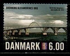 Danemark - Dänemark - Denmark 2012 Y&T N°1665 - Michel N°1689 (o) - 6kr Pont De Dronning Alexandrines Bro - Danimarca