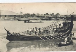 Burmese Paddy Boat - Myanmar (Birma)