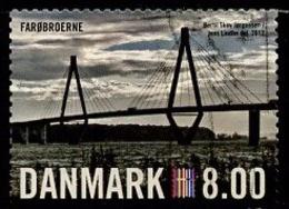 Danemark - Dänemark - Denmark 2012 Y&T N°1666 - Michel N°1690 (o) - 8kr Pont De Farobroerne - Danimarca