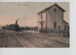CP31/ France CP Marre La Halte - Locomotive En Marche - Animée - Verdun