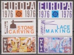 """Malta 1976 MiN""""532-533 MNH - Malta"""