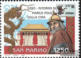 San Marino 1651 (complete Issue) Unmounted Mint / Never Hinged 1996 Stamp Exhibition - San Marino