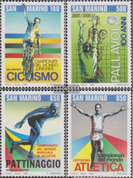 San Marino 1594-1597 (complete Issue) Unmounted Mint / Never Hinged 1995 Sports - San Marino