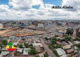 Ethiopia Addis Ababa Aerial View New Postcard Äthiopien AK - Ethiopie