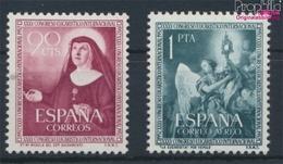 Spanien 1008-1009 (kompl.Ausg.) Postfrisch 1952 Eucharistischer Kongress (9360999 - 1931-Heute: 2. Rep. - ... Juan Carlos I