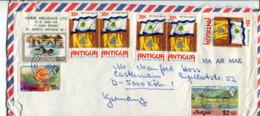 Antigua (1976) -  Busta Per La Germania - Antigua E Barbuda (1981-...)