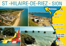 Dep 85 , Cpm ST HILAIRE De RIEZ - SION , 113 , Multivues (11581) - Saint Hilaire De Riez
