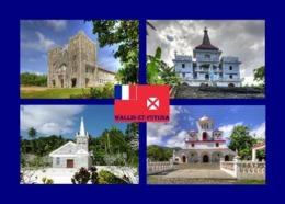 Wallis And Futuna Churches New Postcard - Wallis En Futuna