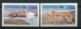Chile 2002 / Birds Mammals MNH Vögel Säugetiere Aves Mamíferos Oiseaux / Cu7726  23-21 - Pájaros