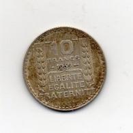 Francia - 1939 - 10 Franchi - Argento - Vedi Foto - (MW2639) - France