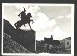 Krujë / Kruja - The Monument Of The National Hero George Castrioti-Scanderberg - Albanie