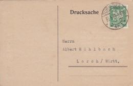 Drucksache - Spendenbescheinigung - Deutsches Institut Für ärztliche Mission - Tübingen 1925 (44802) - Deutschland