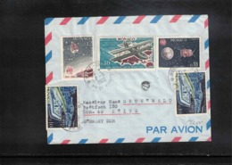 Monaco 1966 Interesting Airmail Cover - Monaco
