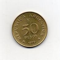 Argentina - 1979 - 50 Pesos - Vedi Foto - (MW2642) - Argentinië