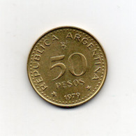 Argentina - 1979 - 50 Pesos - Vedi Foto - (MW2642) - Argentina