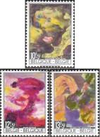 Belgium 1518-1520 (complete Issue) Unmounted Mint / Never Hinged 1968 Disaster Relief - Belgium