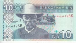 NAMIBIA 10 DOLLARS 2001 P-4 UNC */* - Namibia