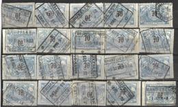 _9Sp-969:restje 20zegels: TR23 ...om Verder Uit Te Zoeken. - 1895-1913