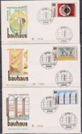 BRD FDC 1983 Nr.1164 - 1166 Bauhaus 100.Geb. Von Walter Gropius (d 6054 )günstige Versandkosten - FDC: Covers