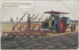 CPA  TRACTEUR TITAN 45 HP - Tracteurs