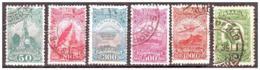 1929 Brasil Aviacion Dumont Severo Gusmao 6v.serie Completa - Used Stamps