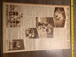 1932 1933 M BOXE BOXEUR HUGUENIN TARANTE ORLANDI KID CHOCOLATE WILLIE SMITH WESTMOET MAURICE GRISELLE - Vieux Papiers