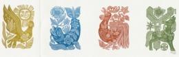 Nieuwjaarskaart 1978 Hermann Huffert (1904-1995) Gesigneerd - Estampes & Gravures