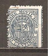España/Spain-(usado) - Fiscal Postal Edifil  18 - Yvert 17 (o) (defectuoso) - Steuermarken/Dienstpost