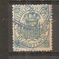 España/Spain-(usado) - Fiscal Postal Edifil  19 - Yvert 18 (o) - Steuermarken/Dienstpost