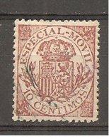 España/Spain-(usado) - Fiscal Postal Edifil  26 - Yvert 24 (o) - Steuermarken/Dienstpost