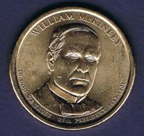 1 Dollar William McKinley, UNC, 2013 - EDICIONES FEDERALES
