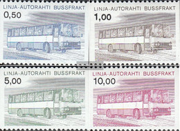 Finland AP14-AP17 (complete Issue) Unmounted Mint / Never Hinged 1981 Autopaketmarken - Finland