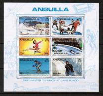 ANGUILLA  Scott # 375-80a** VF MINT NH INCLUDING Souvenir Sheet (SS-409) - Anguilla (1968-...)