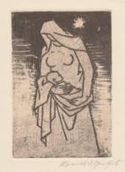 Kleingrafiek Gesigneerde Ets Heinrich Ilgenfritz (1899-1969) - Prenten & Gravure