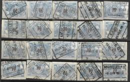 _9Sp-965:restje 20zegels: TR23 ...om Verder Uit Te Zoeken. - 1895-1913