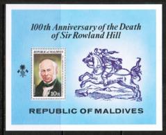 MALDIVES  Scott # 794-9** VF MINT NH INCLUDING Souvenir Sheet (SS-411) - Maldives (1965-...)