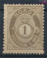 Norwegen 22 Gestempelt 1877 Posthorn (9362054 - Gebraucht