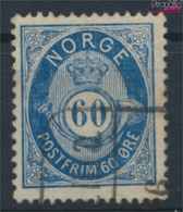 Norwegen 31 Gestempelt 1877 Posthorn (9362056 - Gebraucht