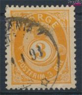 Norwegen 35 Gestempelt 1882 Posthorn (9362050 - Gebraucht