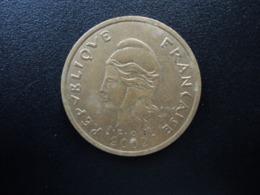POLYNÉSIE FRANÇAISE : 100 FRANCS    2002     G.135g / KM 14      SUP - French Polynesia