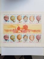 CUBA NEUF 1983 VUELO GLOBO - Blocs-feuillets