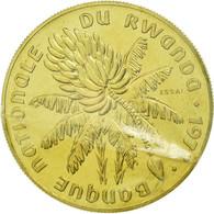Monnaie, Rwanda, 20 Francs, 1977, ESSAI, FDC, Laiton, KM:E6 - Rwanda