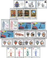 Vatikanstadt 736-758 (complete Issue) Volume 1979 Completeett Unmounted Mint / Never Hinged 1979 JohAnnes PAul II., Secc - Vatican