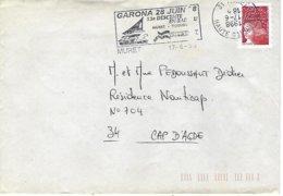 Muret-garona 1998 - Marcophilie (Lettres)
