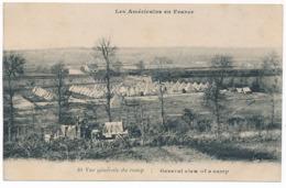 Les Américains En France, American Army Tent Camp In France, World War 1 - Oorlog 1914-18