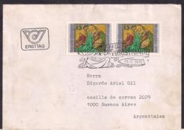 Österreich - 1976 - Brief - Christkindl - 1945-.... 2. Republik