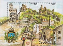 San Marino Block31 (complete Issue) Unmounted Mint / Never Hinged 2002 Tourism - San Marino